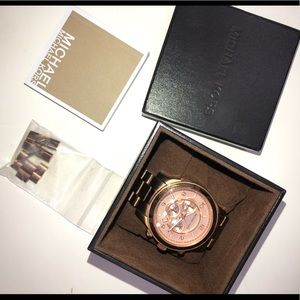 Michael Kors Rose gold men's watch